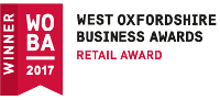Aston Pottery West Oxfordshire Business Award Winner WOBA 2017