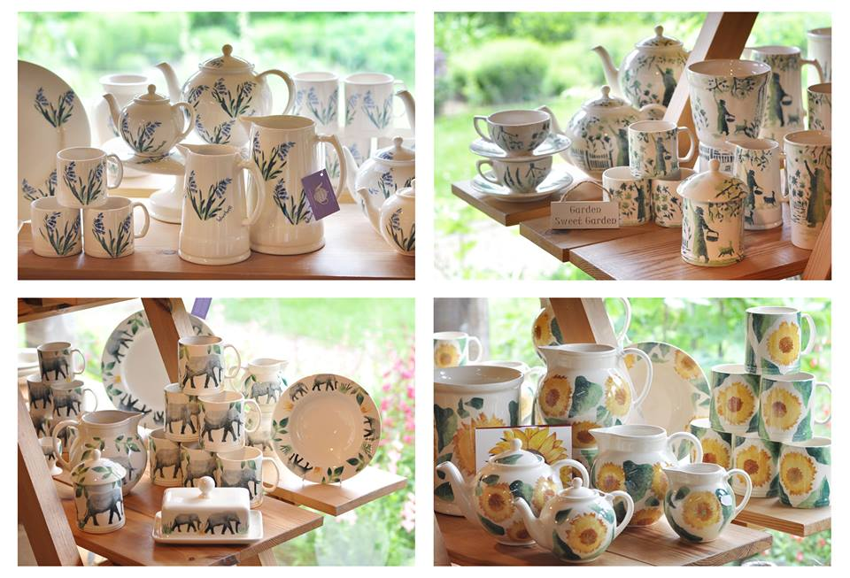 A selection of Aston Pottery designs in our Gift Shop