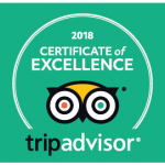 Aston Pottery Trip Advisor Certificate of Excellence 2018