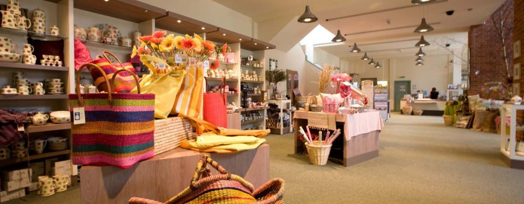 Aston Pottery Gift Shop Products Displays 3