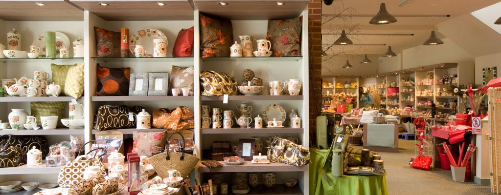 Aston Pottery Gift Shop Products Displays 1